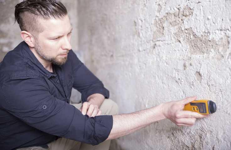 Feuchte Mauern Schadensanalyse